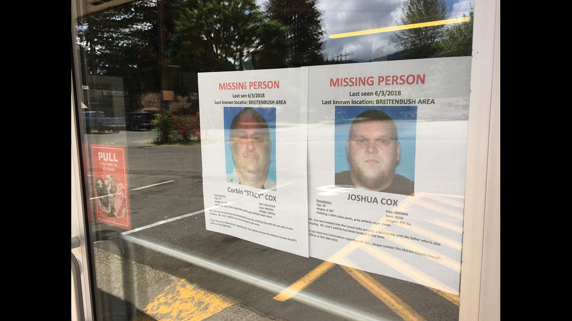 Missing father and son found alive near Breitenbush Hot Springs