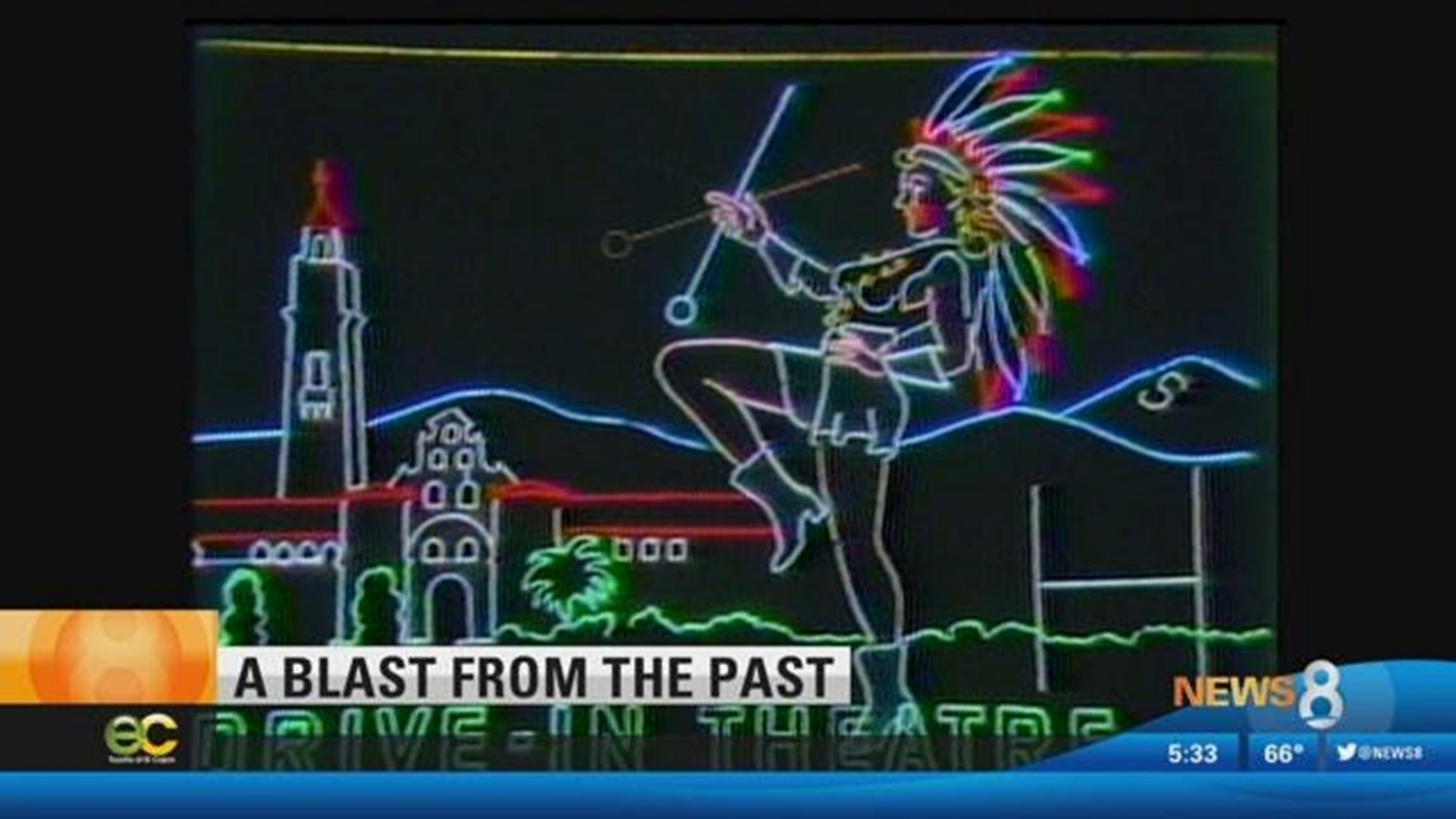 News 8 Throwbacks Remembering The Neon Lights On El Cajon Boulevard King5 Com