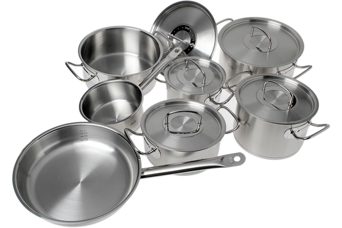 Fissler Original Profi Collection Pan Set 7 Pieces Advantageously Shopping At Knivesandtools Com