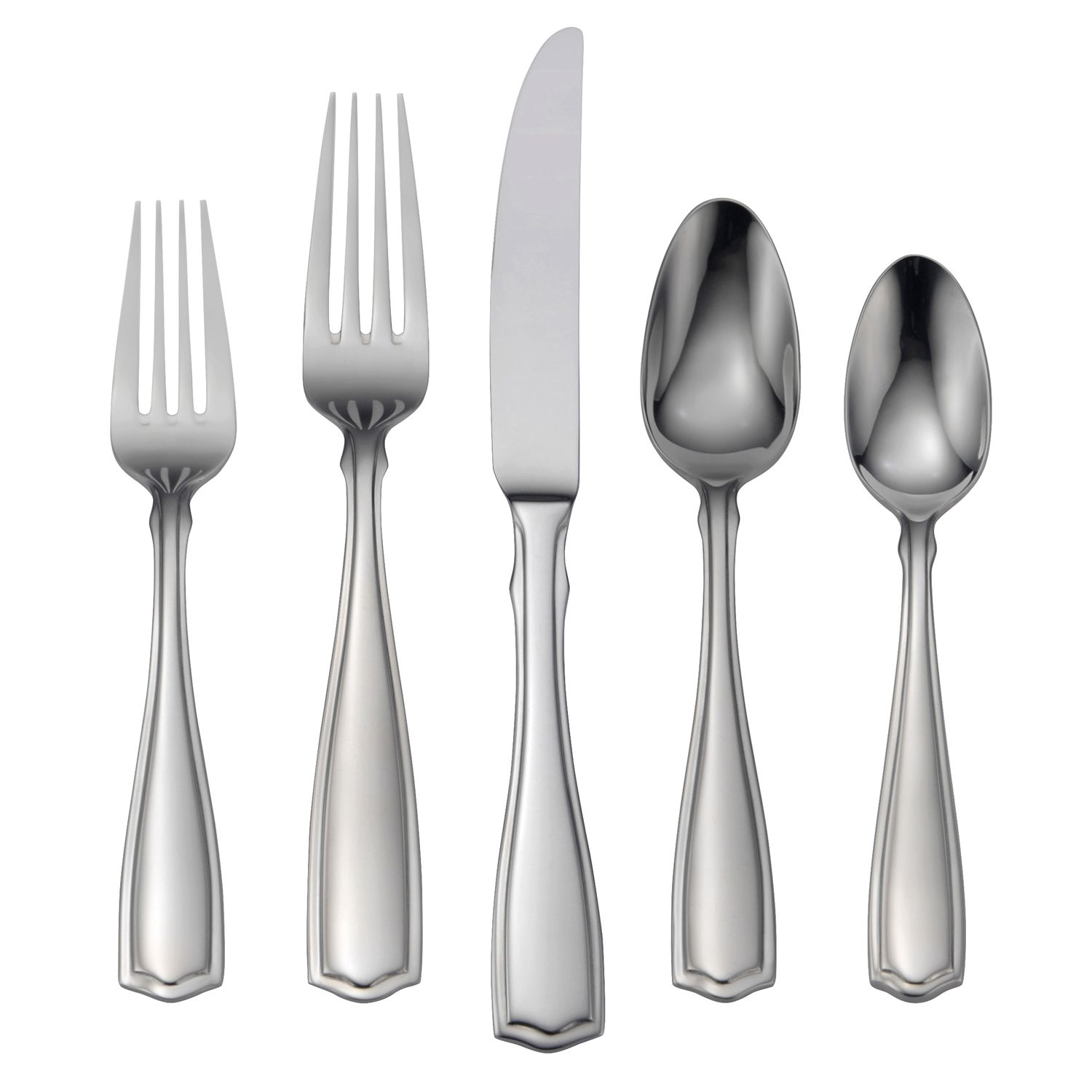 Discount Stainless Flatware Oneida Carolina 18 10 Stainless Steel 65 Pc Flatware Set