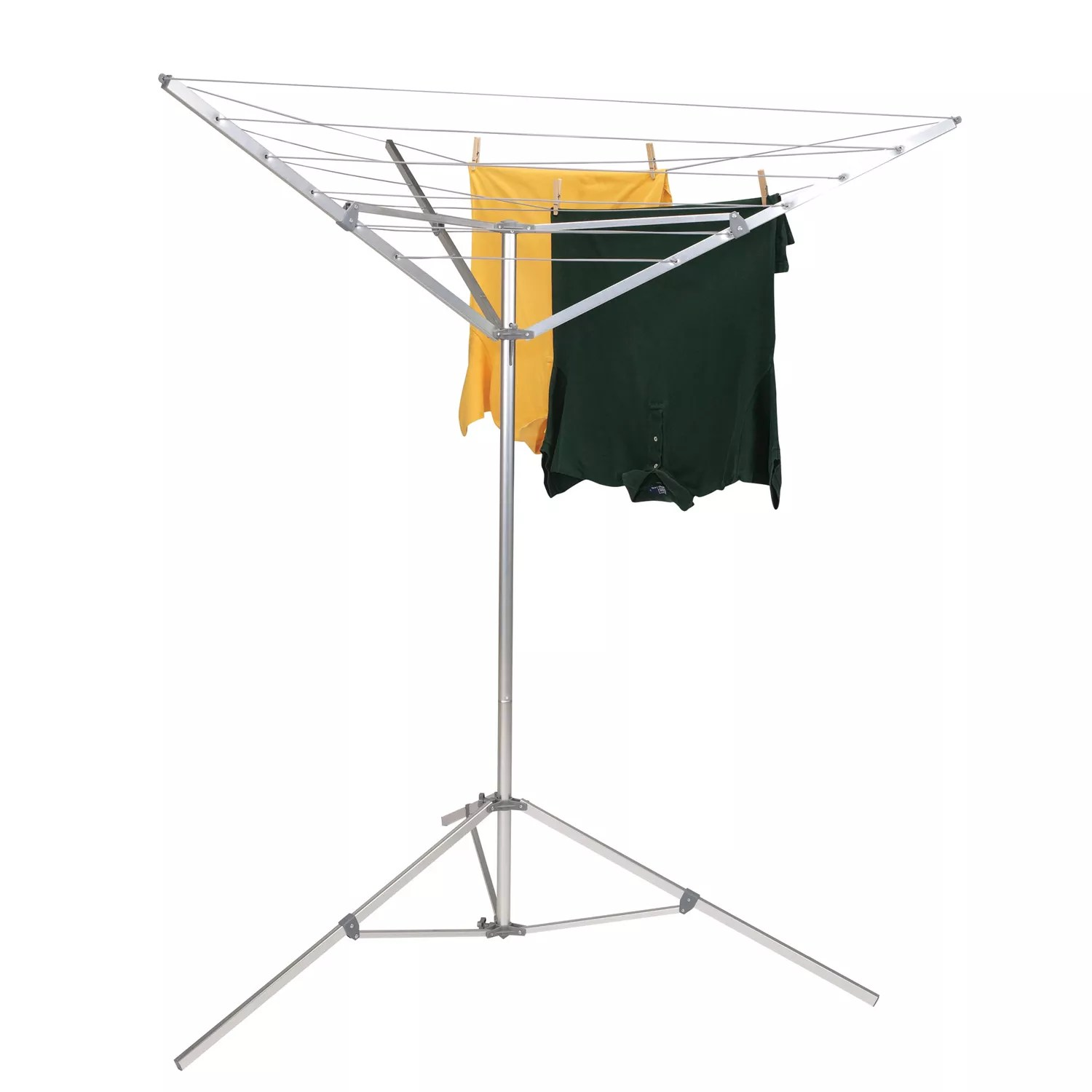 Household Essentials Portable Outdoor Umbrella Drying Rack