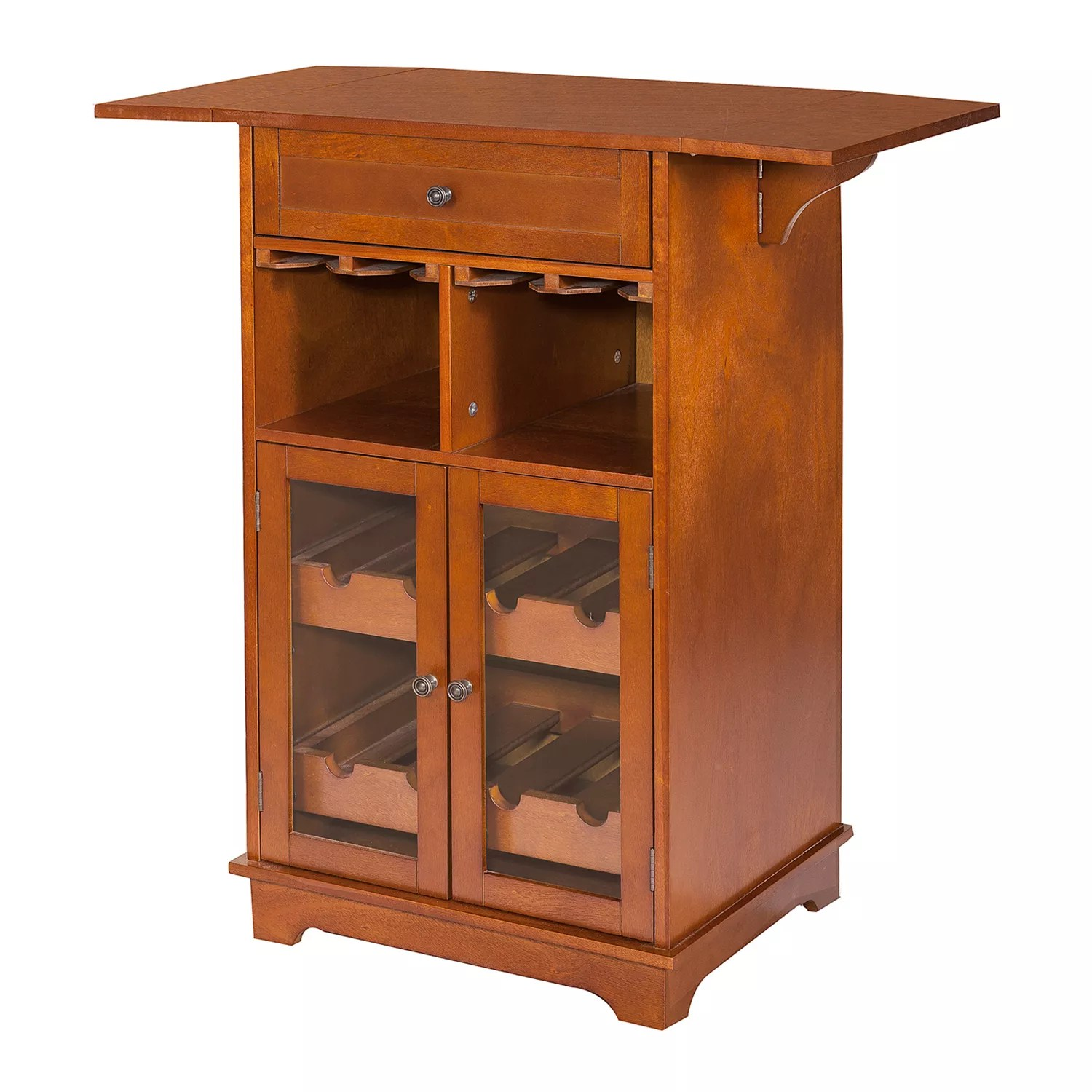 Peoria Storage Peoria 8 Bottle Wine Storage Cabinet