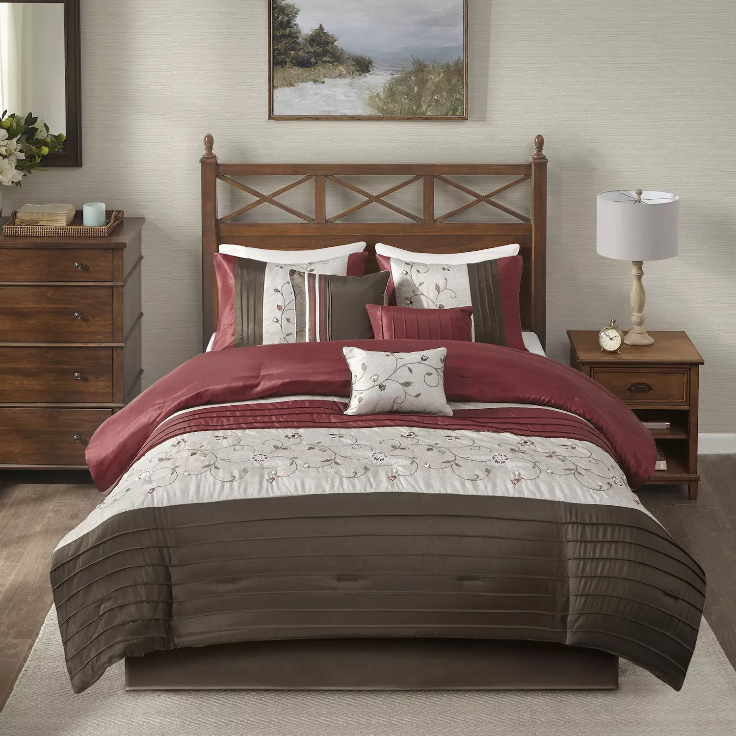 Duvet And Comforter Sets Madison Park Belle 7 Pc Comforter Set