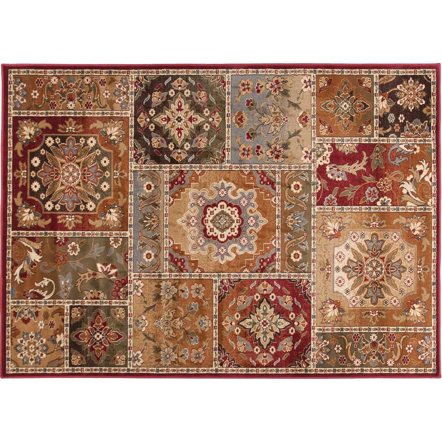 Khl Rugs Transitional Patchwork Rug