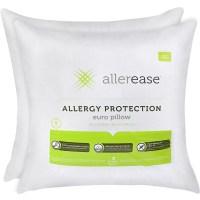 Aller-Ease 100% Cotton Allergy Protection Euro Pillow, 26 ...