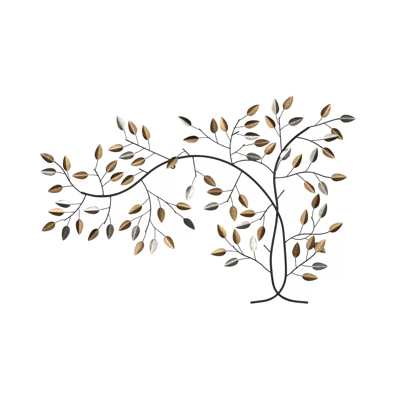 Tree Branch Metal Wall Decor