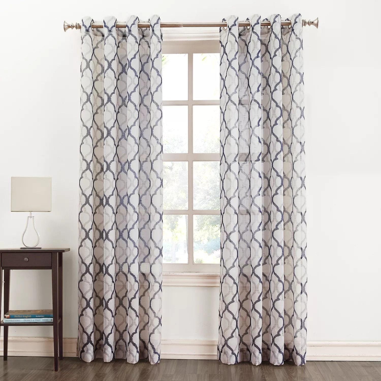 SONOMA Goods for Life™ Lona Semi-Sheer Curtain