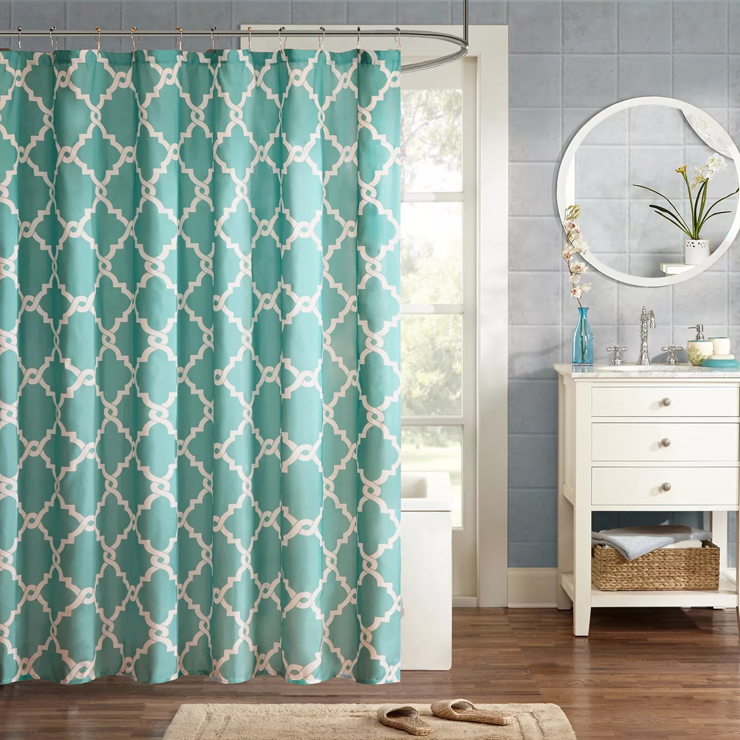 Kohls Com Shower Curtains Madison Park Essentials Almaden Shower Curtain