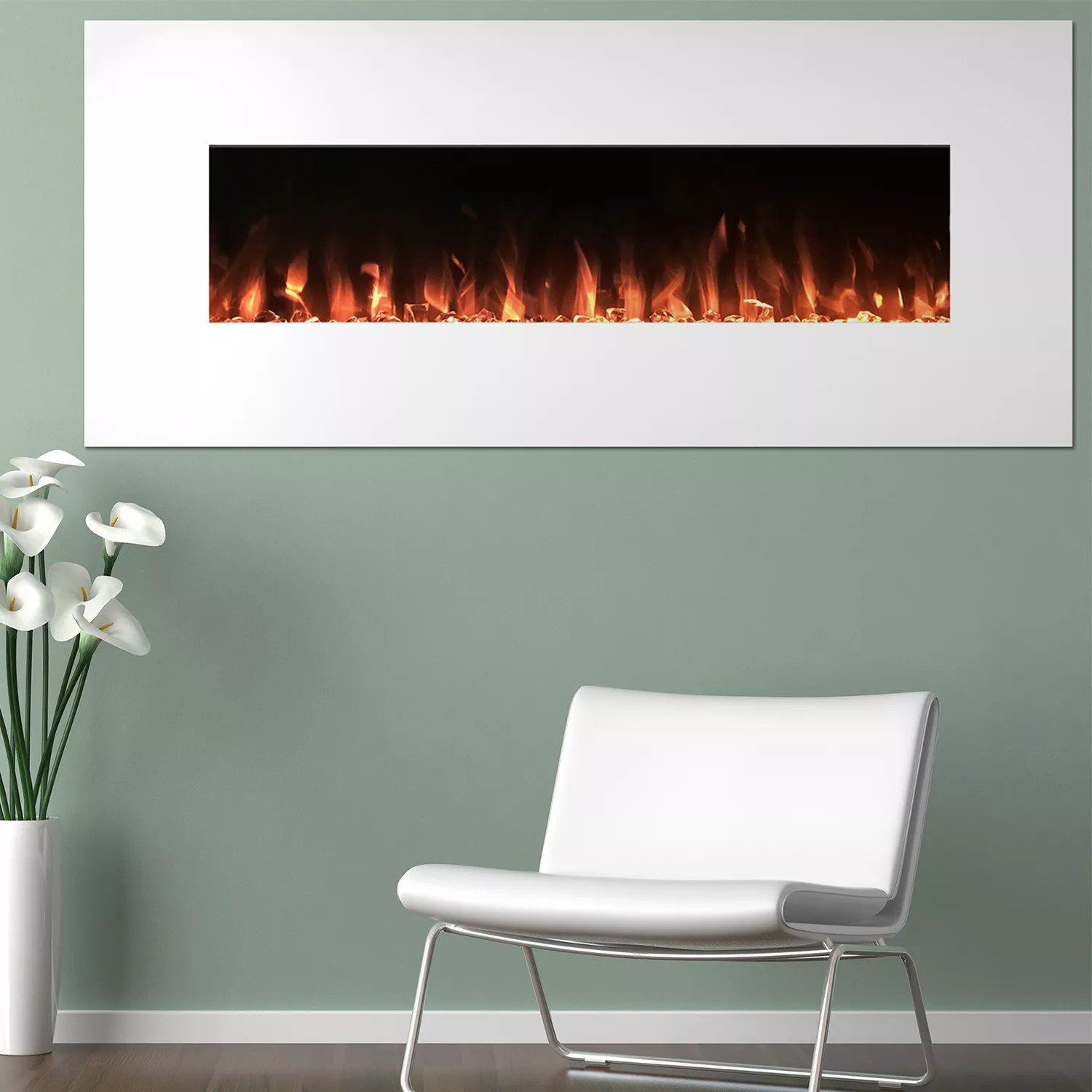 Wall Mount Fireplaces Northwest 50
