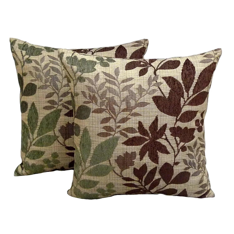 Essentials Bristol Chenille Jacquard 2 Pk Decorative Pillows
