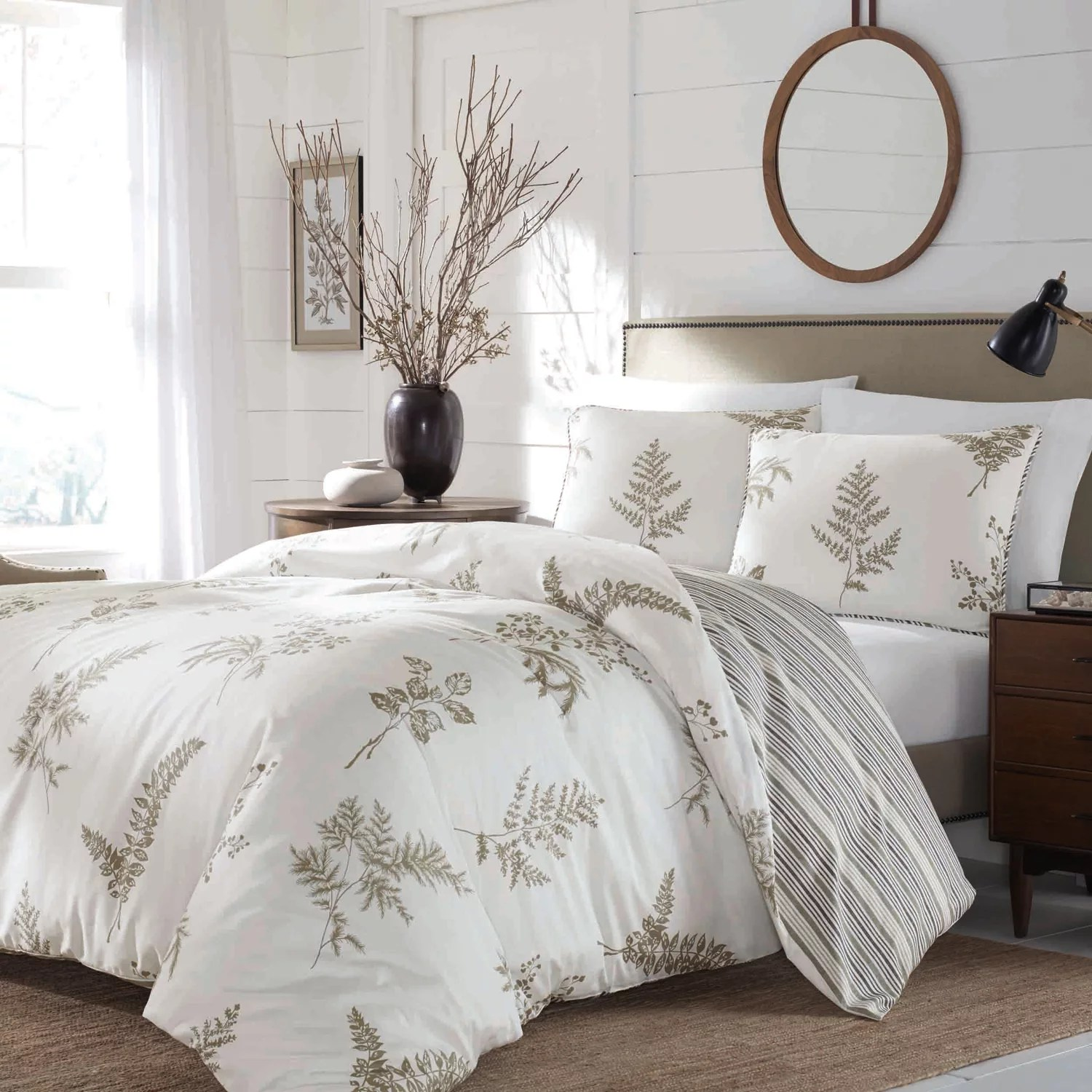 Duvet And Comforter Sets Stone Cottage 3 Piece Willow Comforter Set