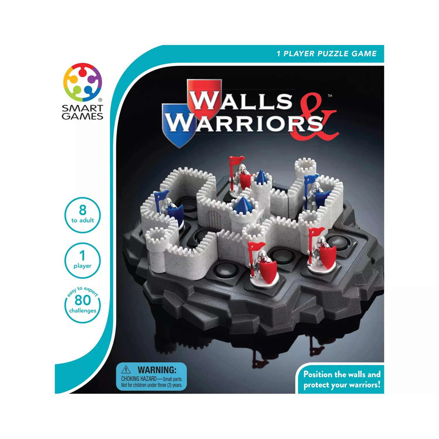 Smart Toys And Games Walls Warriors Puzzle Game