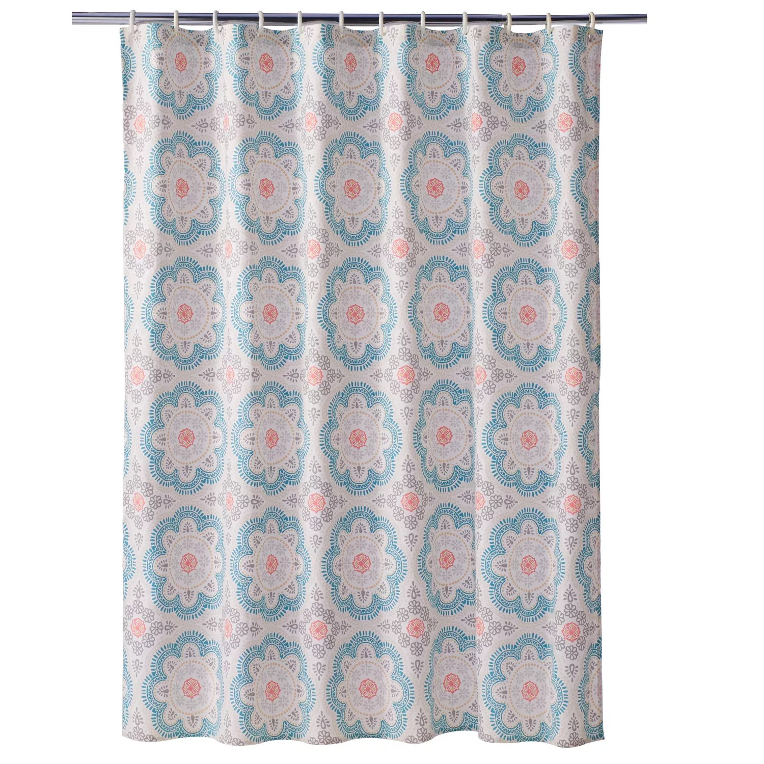 Kohls Com Shower Curtains Sonoma Goods For Life Medallion Shower Curtain