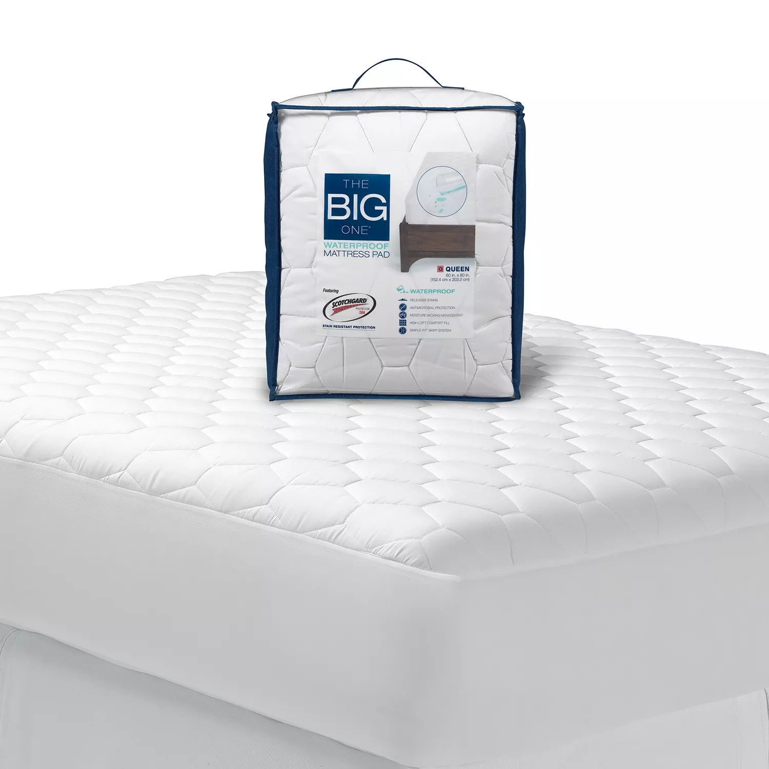 Super King Size Waterproof Mattress Protector The Big One Waterproof Mattress Pad