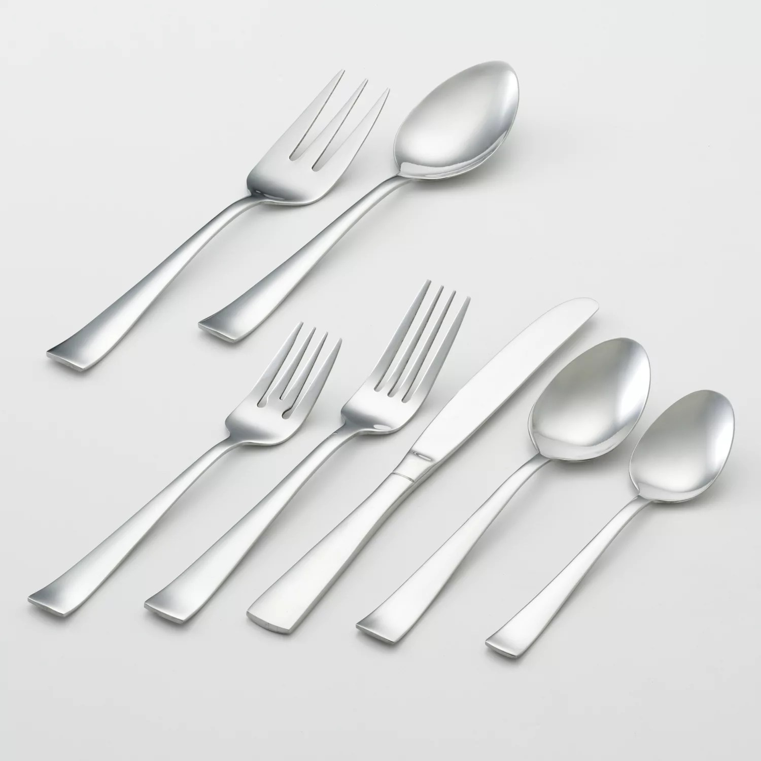 Used Flatware For Sale Oneida Zinc 82 Pc Flatware Set
