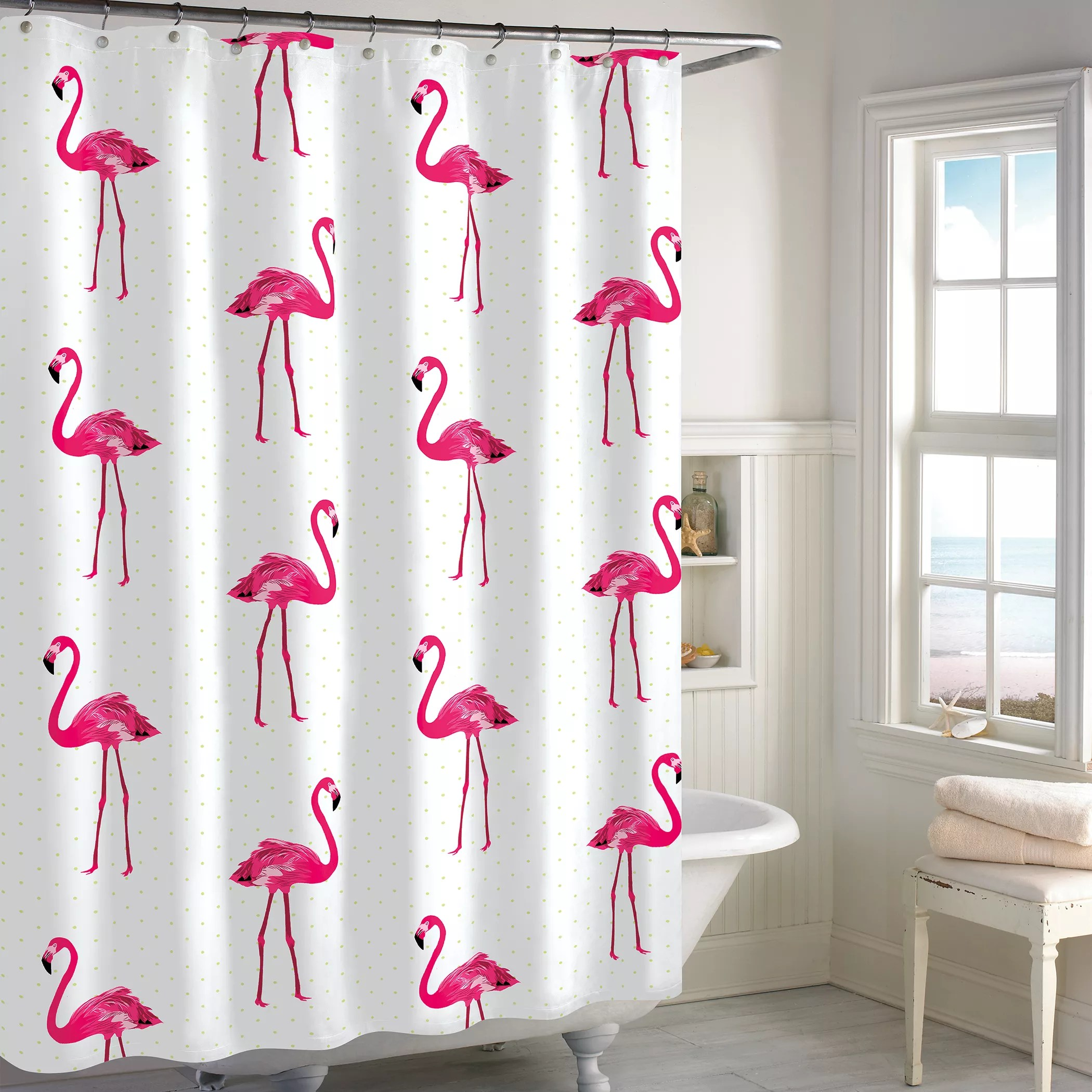 Apt 9 Shower Curtain Destinations Flamingo Shower Curtain Collection