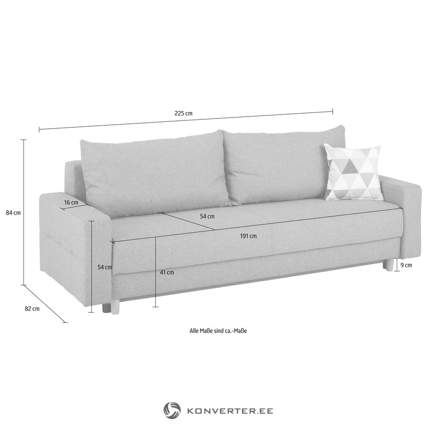 Sofa Maße Anthracite Sofa Bed Whole Konverter Outlet