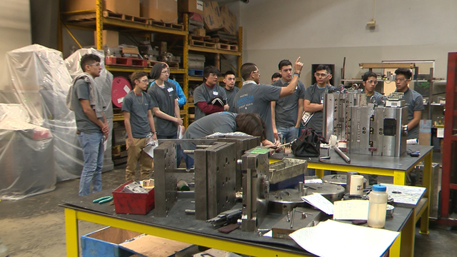 Thousands of high school students participate in citywide job - high school job shadowing