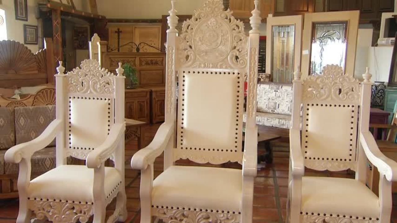 Muebles Capitol Ju Rez Artisans Make Pope Francis Chair 20160203172106
