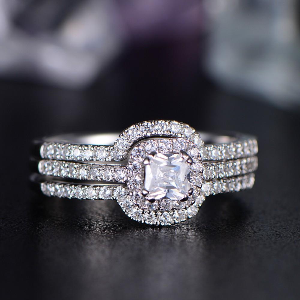 Fullsize Of Asscher Cut Engagement Rings