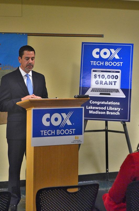 Cox Communication Tech Boost LPL - The Lakewood Observer