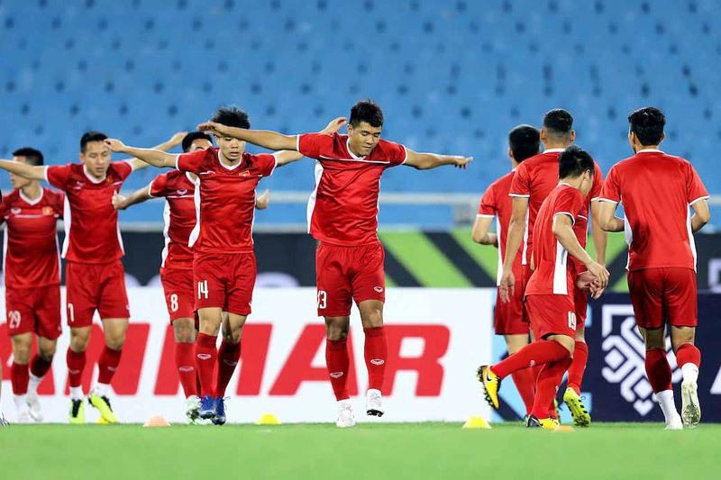 Chinh Thuc Khai Mac Asian Cup 2019 Cho Tuyen Viet Nam Toa