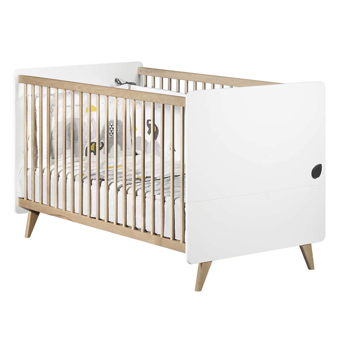 Lit Sauton Lit Bébé Evolutif Little Big Bed Oslo 70 X 140 Cm