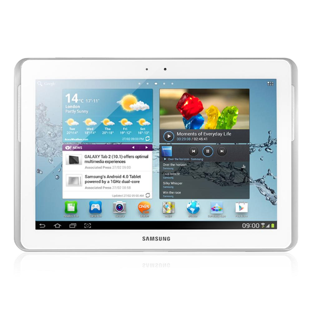 Support Clavier Ordinateur Samsung Galaxy Tab 10.1 2 Gt-p5110 Blanc 16 Go - Tablette