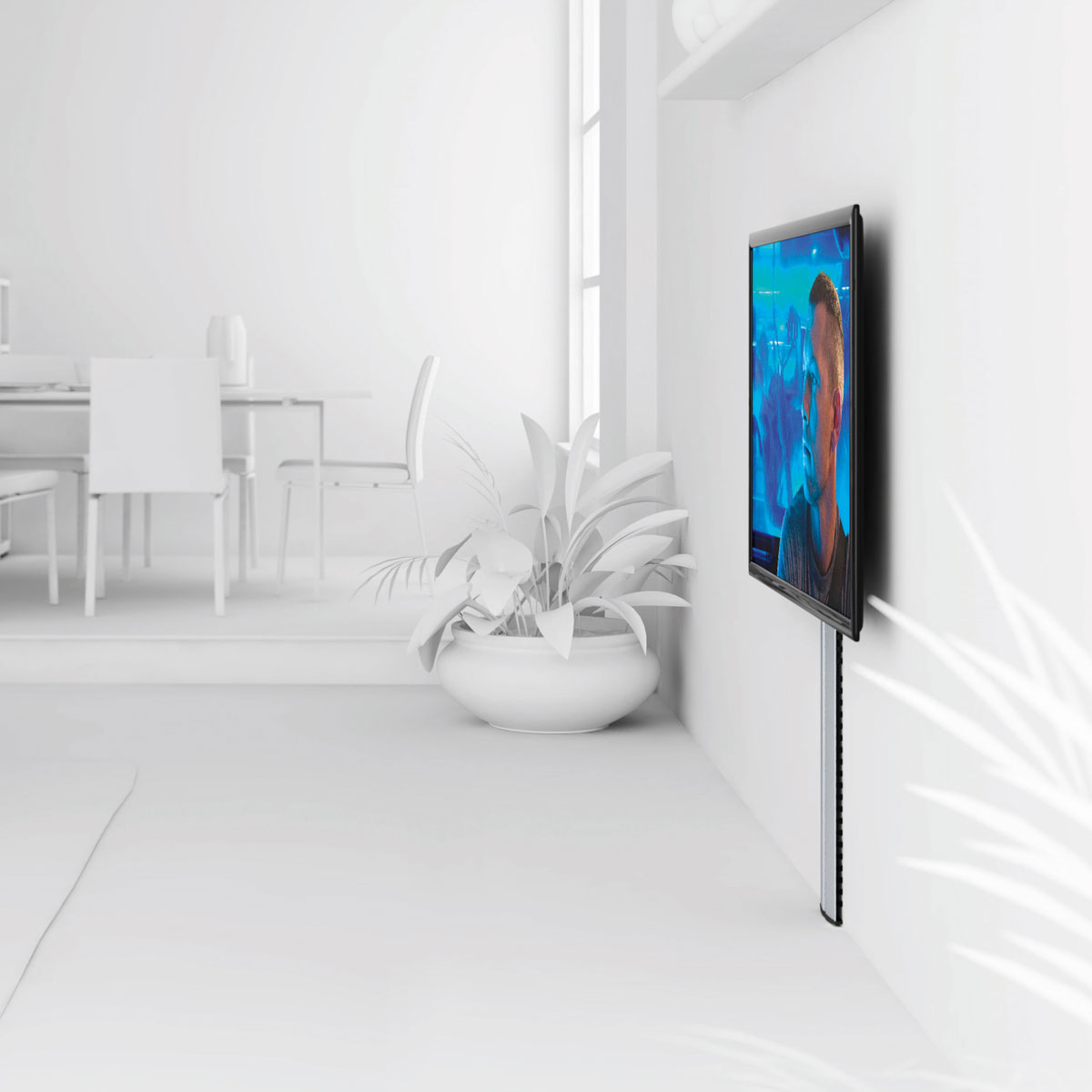 Meuble Tv 95 Cm Vogel's Cable 10l - Support Mural Tv Vogel's Sur Ldlc.com