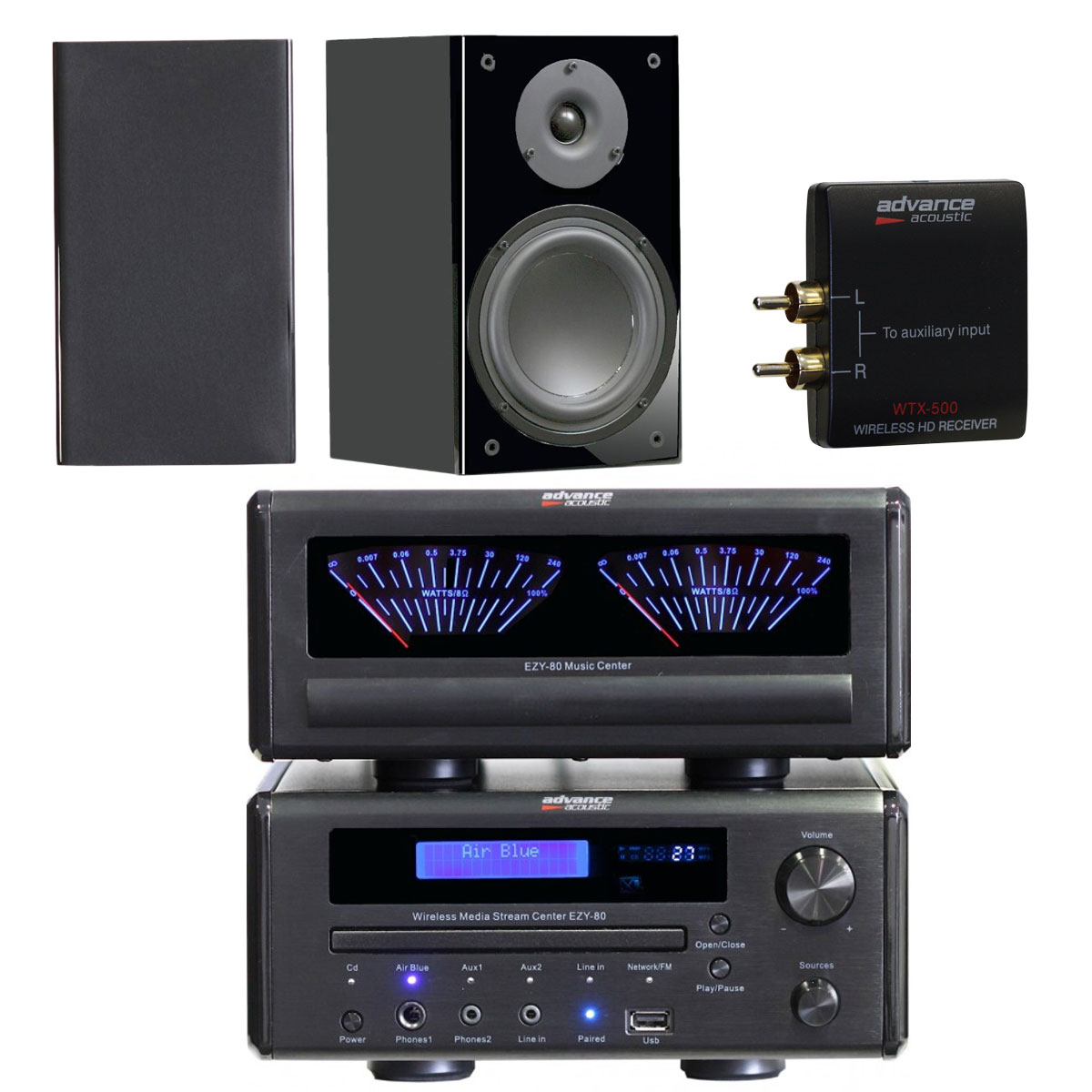 Meuble Chaine Hifi Advance Acoustic Ezy 80 + Advance Acoustic K1 + Advance