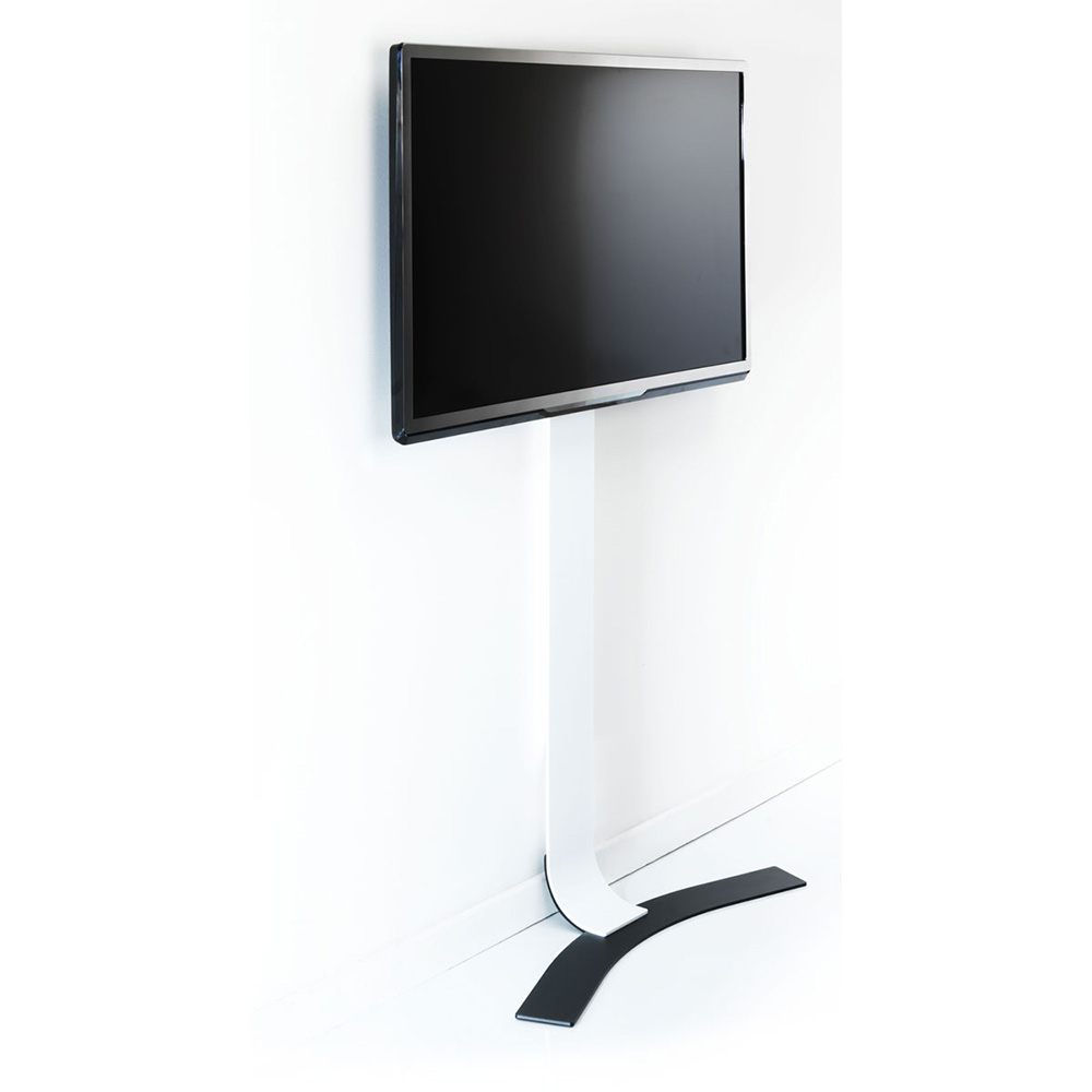 Meuble Tv Curved Erard Standit Pro (044661) : Achat / Vente Support Mural