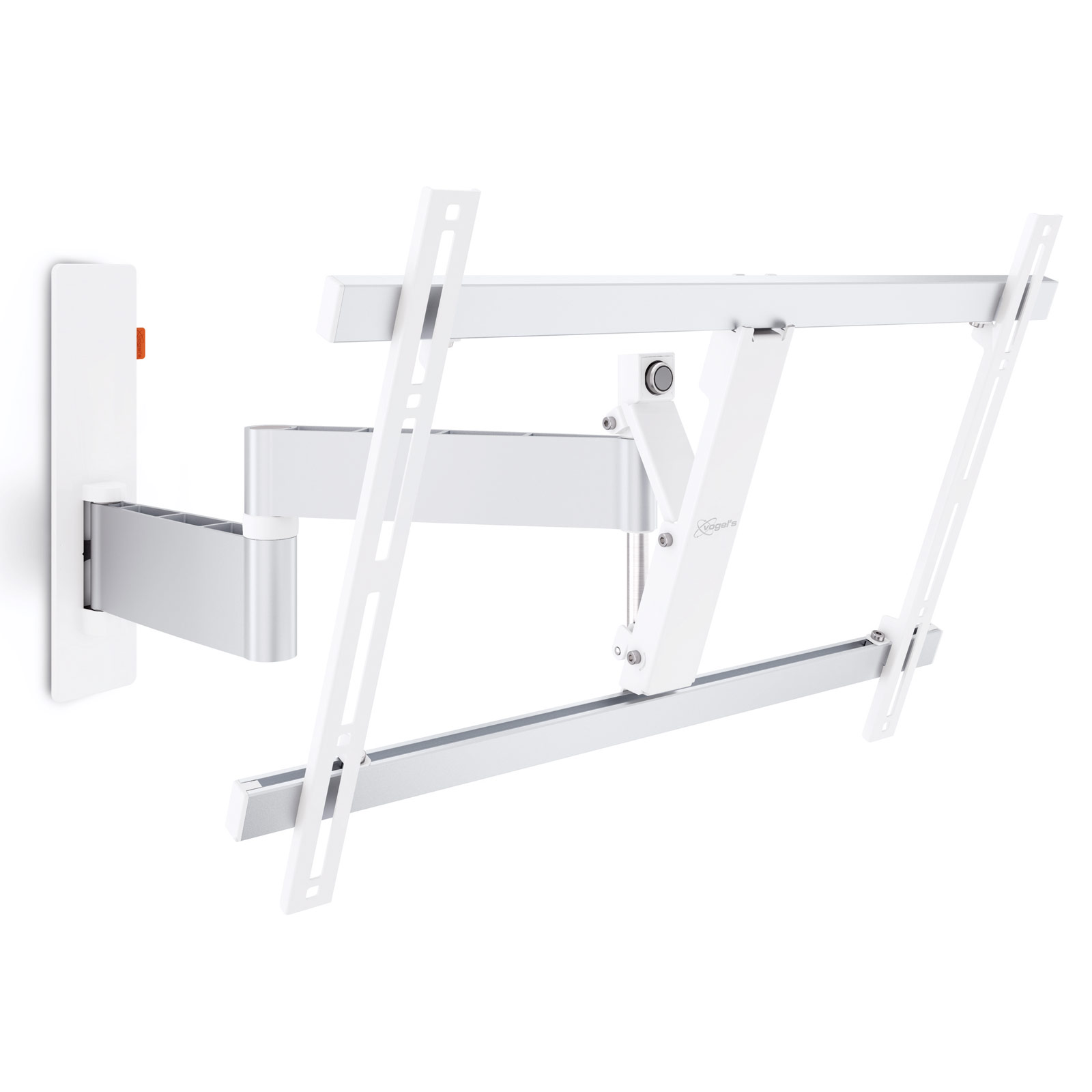 Support Tv Pour Meuble Vogel 39s Wall 2345 Blanc Support Mural Tv Vogel 39s Sur Ldlc