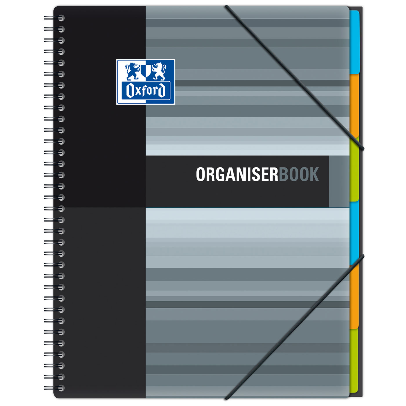 Bloc Note Dessin Oxford Organiserbook Cahier A4+ 160 Pages Grands Carreaux
