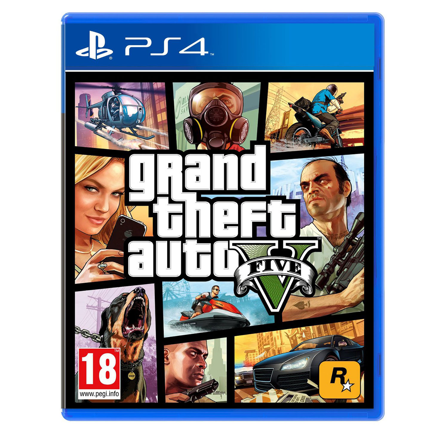 Jeux Ps4 Grand Theft Auto V - Gta 5 (ps4) - Jeux Ps4 Take-two Sur