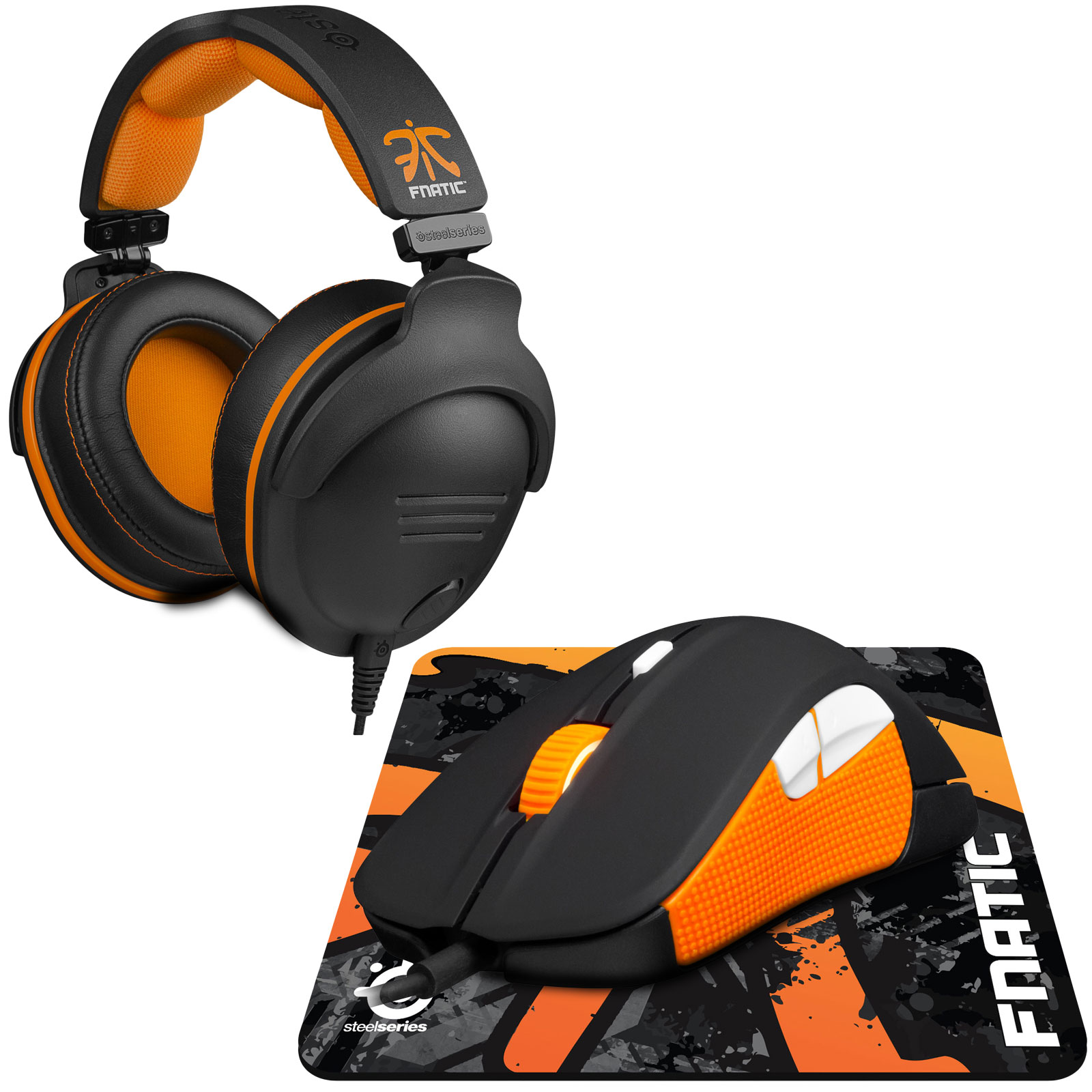 Fauteuil Pc Steelseries Fnatic Pro Gaming Pack - Micro-casque Gamer