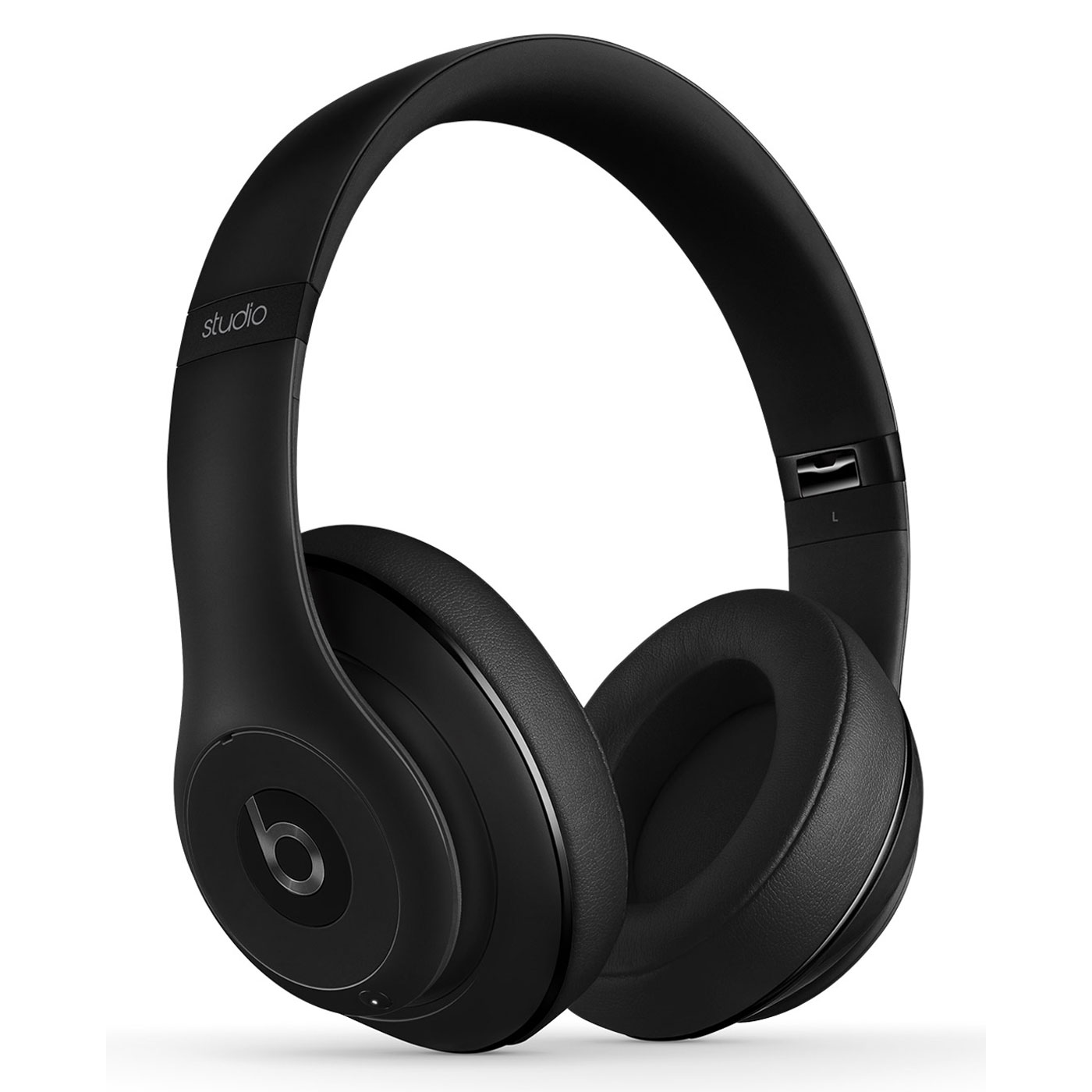 Meuble Hifi Fermé Beats Studio Wireless Noir Mat - Casque Beats By Dr. Dre