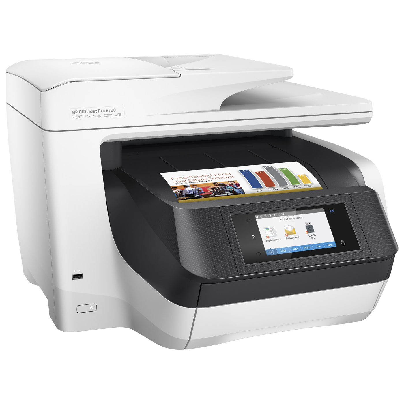 Internet Fax Einrichten Hp Officejet Pro 8720 Imprimante Multifonction Hp Sur