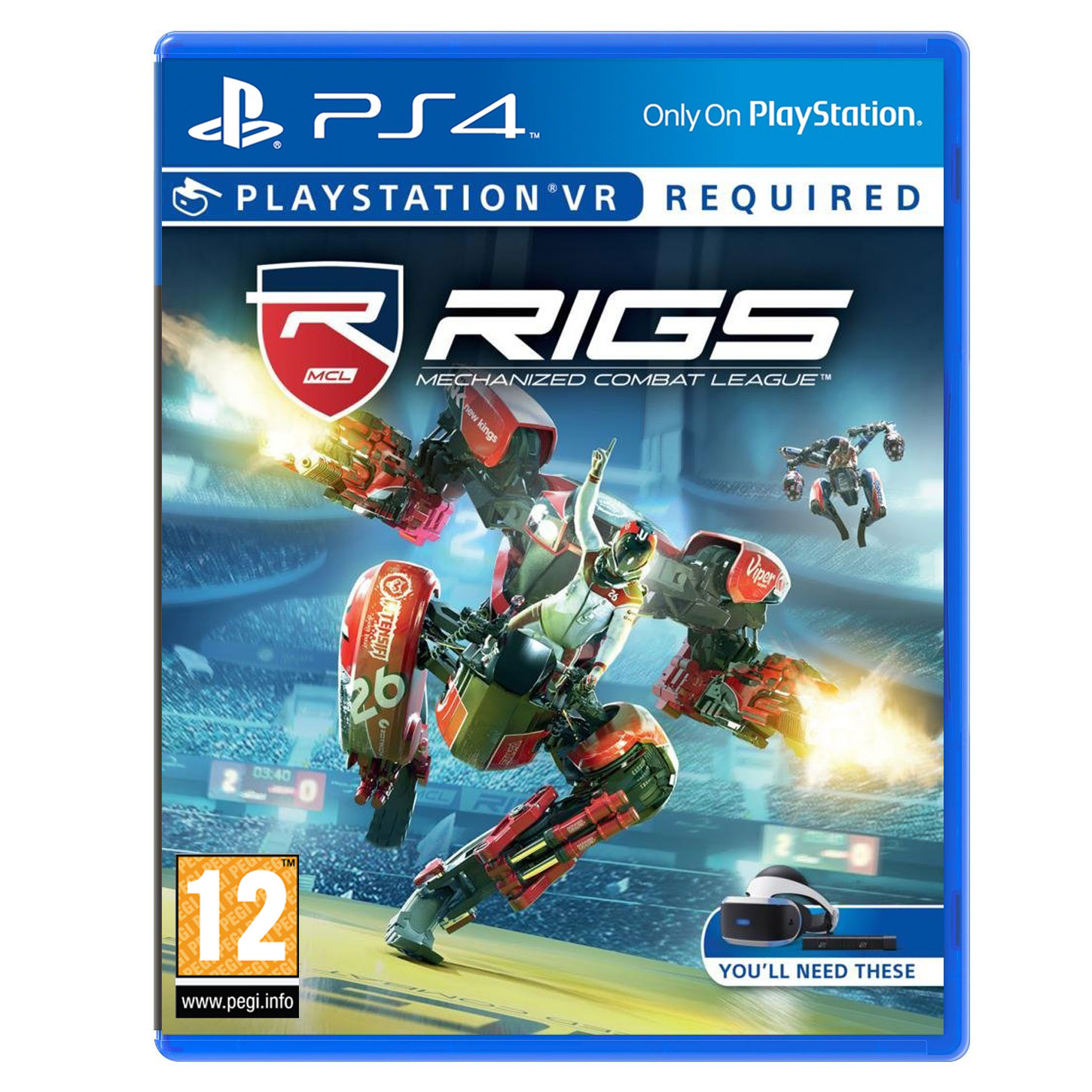 Jeux Ps4 Rigs Mechanized Combat League (ps Vr) - Jeux Ps4 Sony