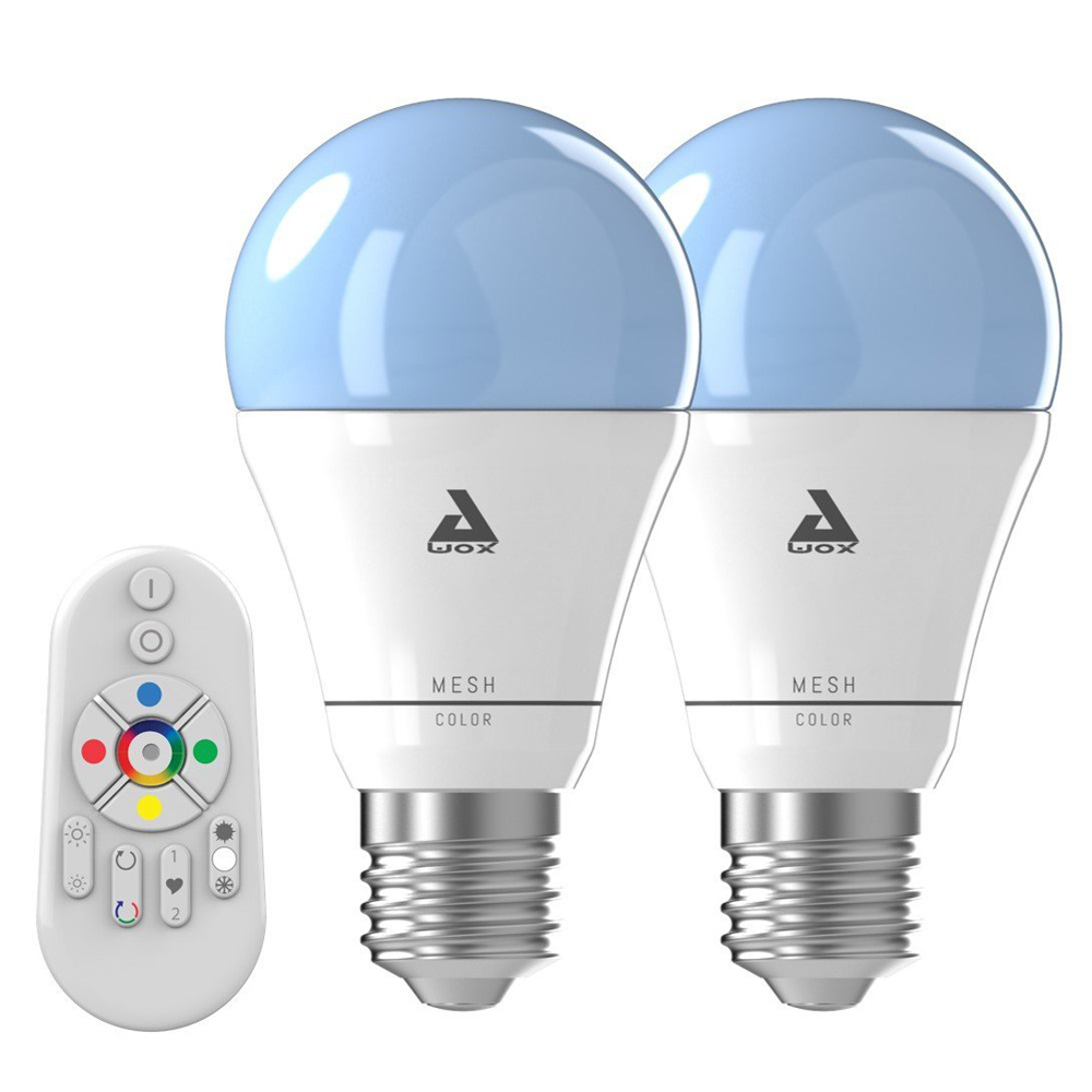 Achat Ampoule Led E27 Awox Smartkit Remote 2 Color Mesh