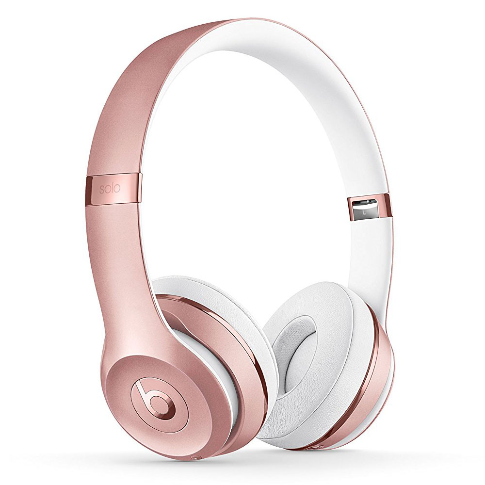 Meuble Hifi Fermé Beats Solo 3 Wireless Or/rose - Casque Beats By Dr. Dre