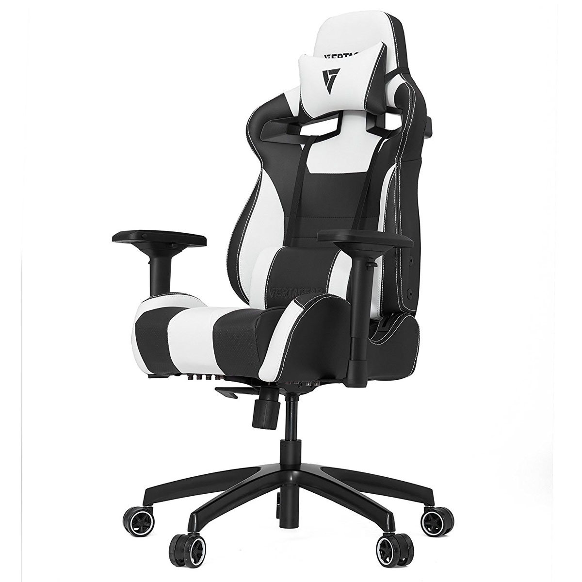 White And Black Office Chair Vertagear Racing Sl4000 Noir Blanc Fauteuil Gamer