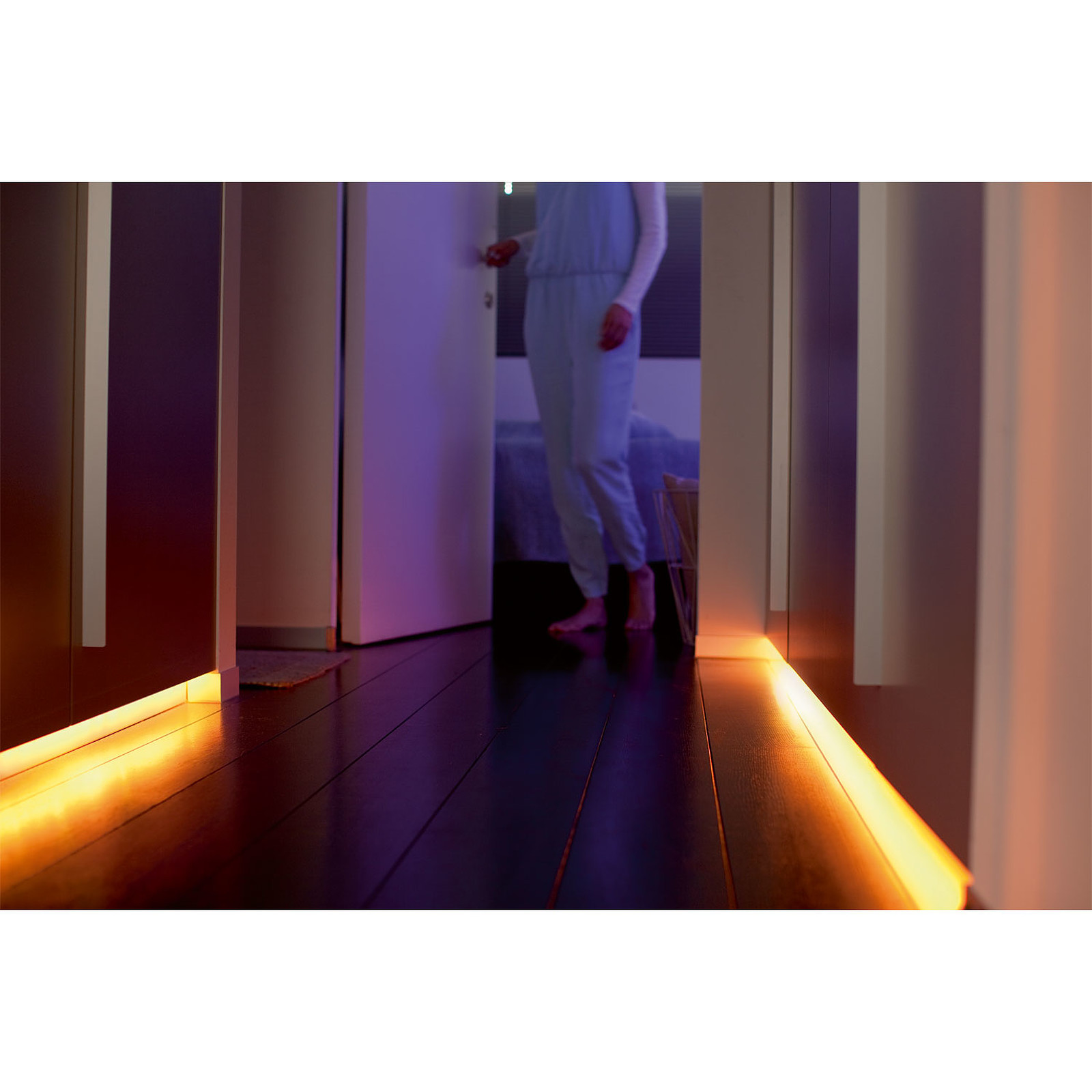 Ruban Led Pour Escalier Philips Hue Lightstrip Plus Extension 1 Mètre