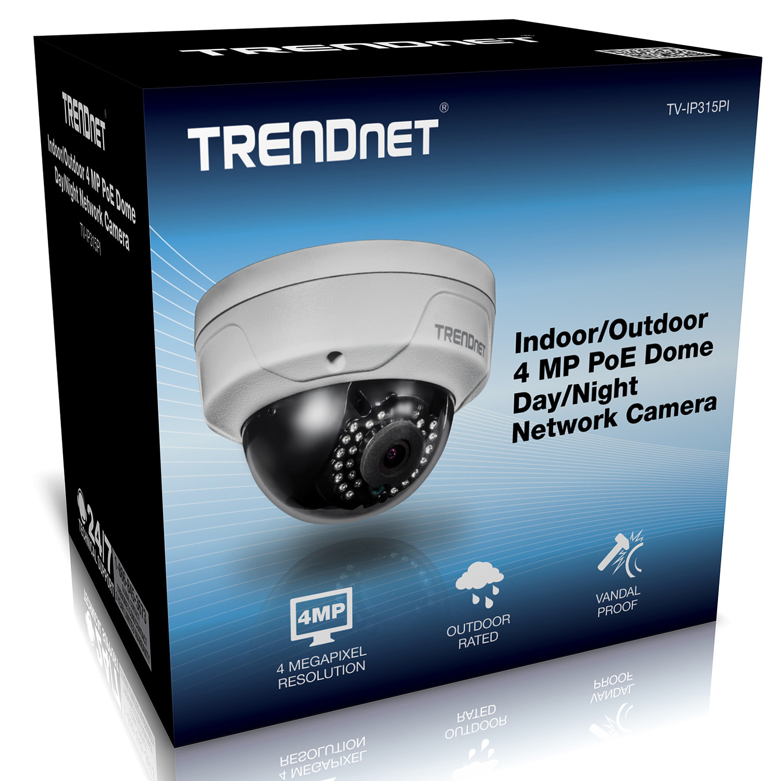 Camera Exterieur Qualite Trendnet Tv Ip315pi