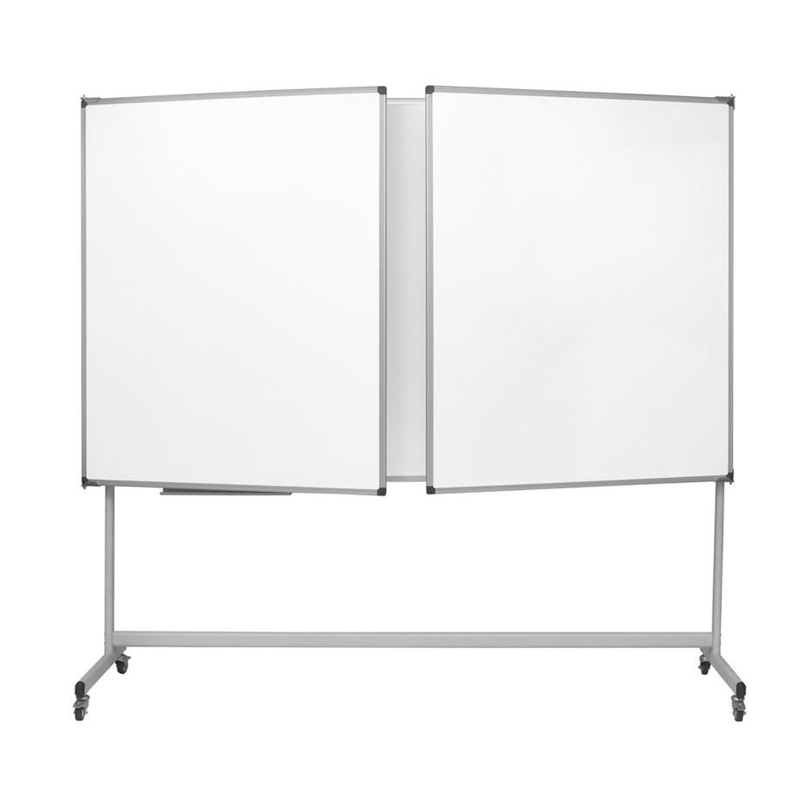 Tableau Blanc Mobile Bi Office Blanc Triptyque Mobile Industriel Maya 100 X 150 300 Cm