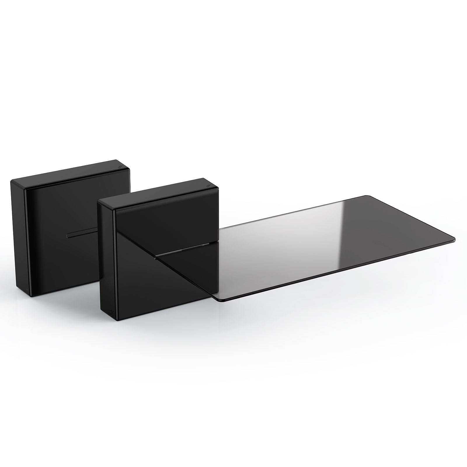 Meuble Tv Audio Meliconi Ghost Cube Shelf Noir