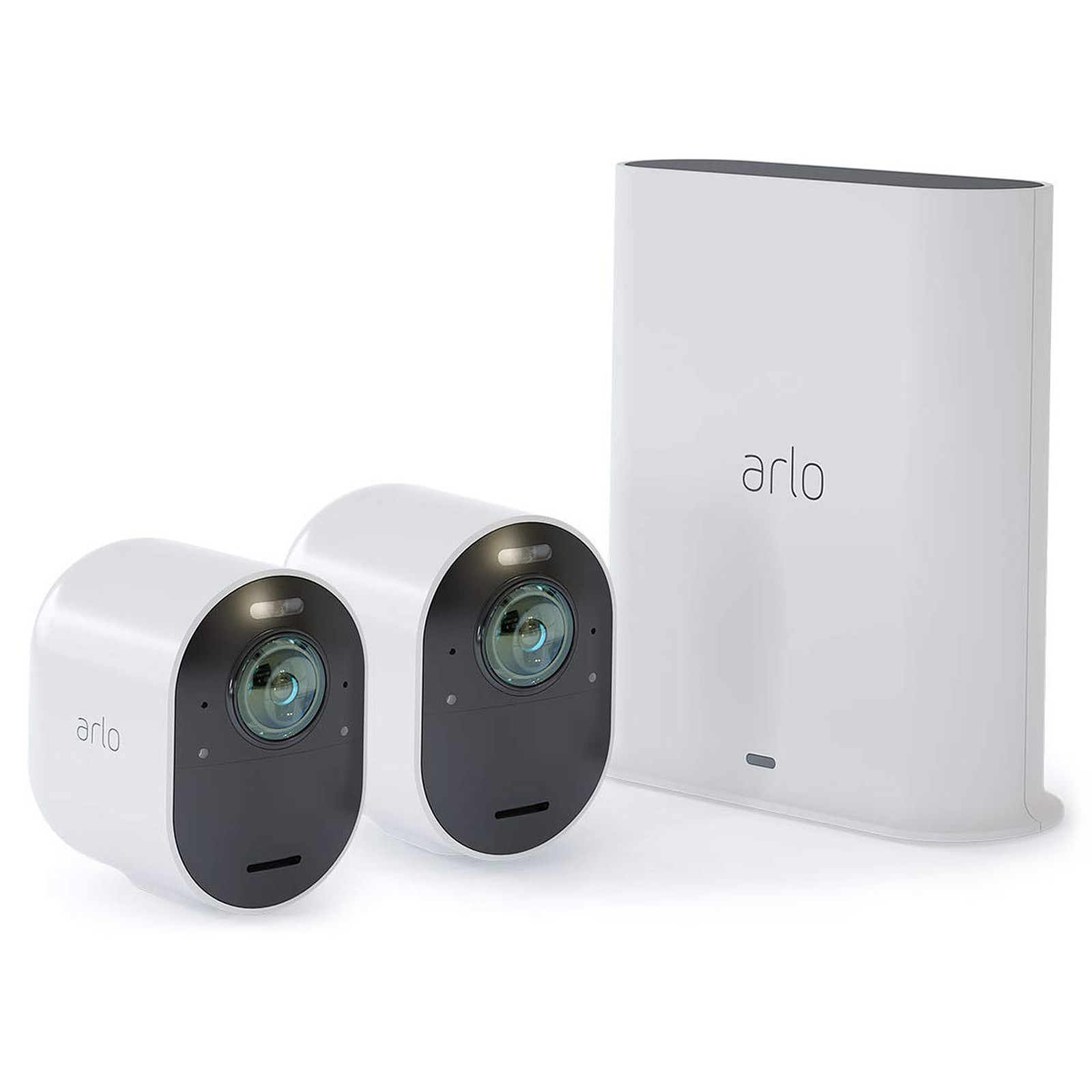 Camera Surveillance Exterieur Sans Fil Autonome Amazon Arlo Ultra Pack 2 Smart Caméra