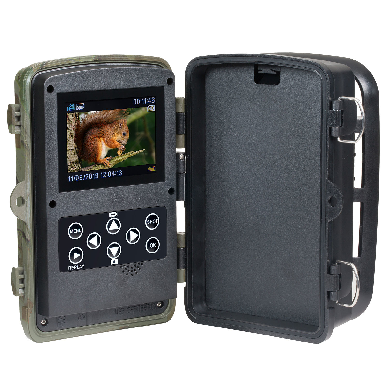 Camera De Surveillance Exterieur Nature Technaxx Nature Wild Tx 125