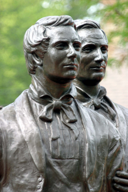 Quotes For Computer Wallpaper Joseph And Hyrum Statue