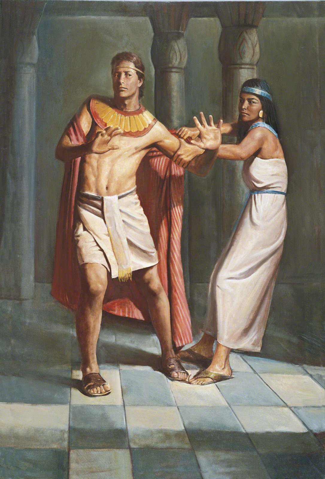 Joseph Und Joseph Joseph Resists Potiphar S Wife Joseph And Potiphar S Wife