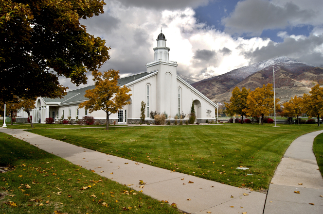 Wallpaper Fall Weather Chapel In Farmington Utah